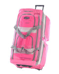 "29"""" 8 POCKET ROLLING DUFFEL (HOT PINK)"