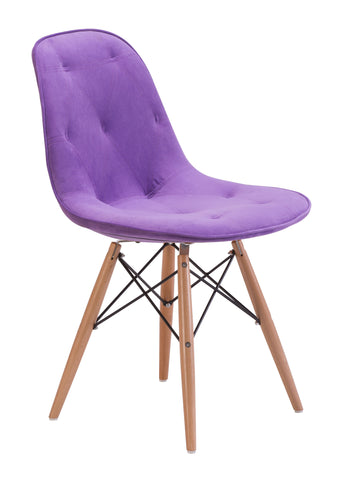 PROBABILITY DINING CHAIR PURPLE