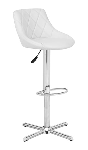 DEVILIN BAR CHAIR WHITE