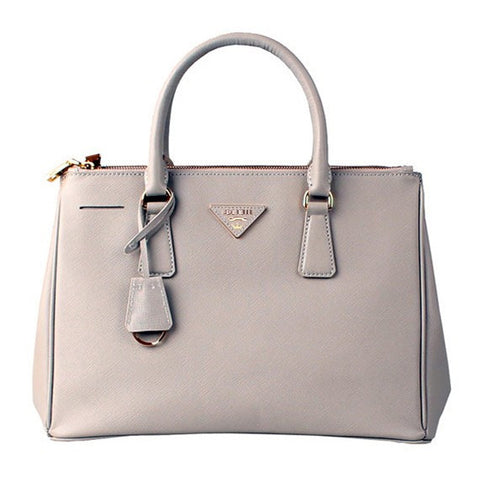 Nude Leather Box Tote