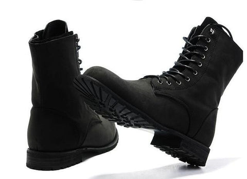 Winter England-style High Top Shoes - Boots
