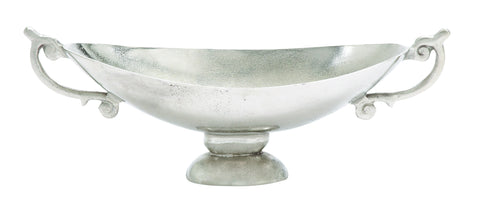 Aluminumdecorative Bowl For Modern Look With Elegant Curves