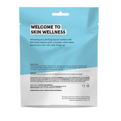 Acure Sheet Mask - Clear - Case Of 12 - 1 Ea