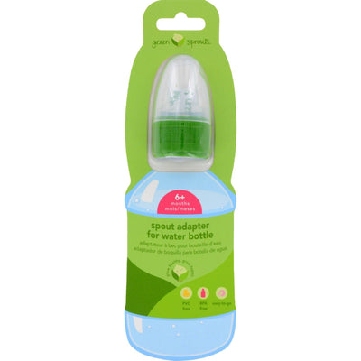 Green Sprouts Water Bottle Cap Adapter - Toddler - 6 To 24 Months