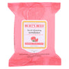 Burts Bees Face Towelette - Pink Grapefruit - Case Of 3 - 30 Count