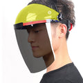 Premium Face Shield Anti-Scratch & Anti-Fog with Professional Coated Clear Lens Headgear