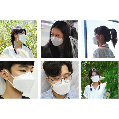 Protective Korean  KF94 Face Mask 20PCS/Pack For Adults.