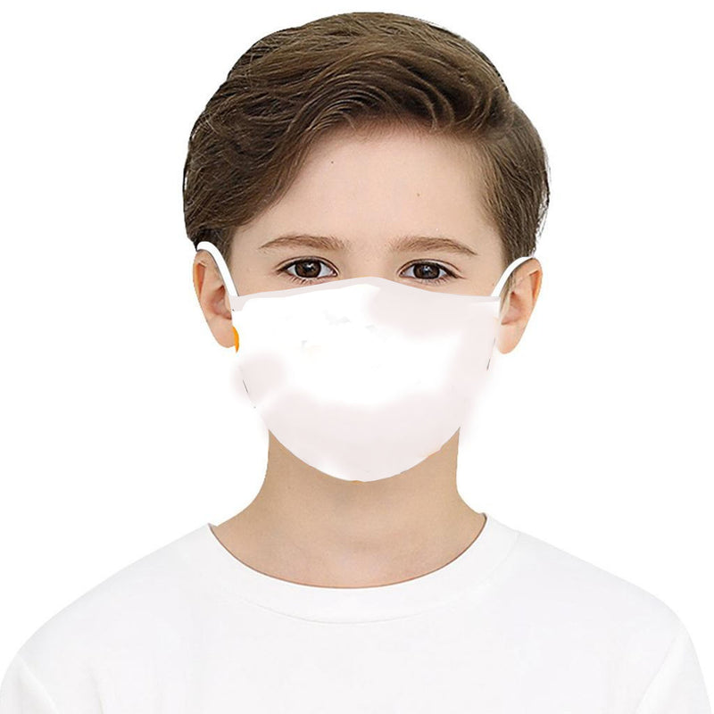 Kids Washable cup face mask n95 2-Layer Protective Mask, 3-D Perfect Fit With PM 2.5 Filters, Individually Packed - 5/Pack