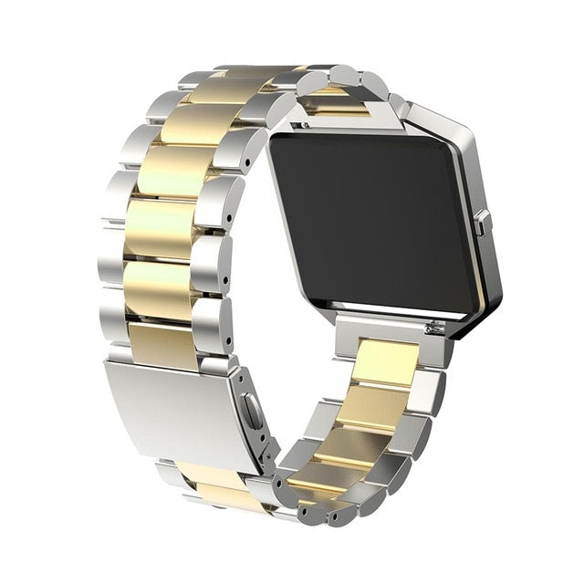 Fitbit Blaze Replacement Stainless Steel Wrist watch Band