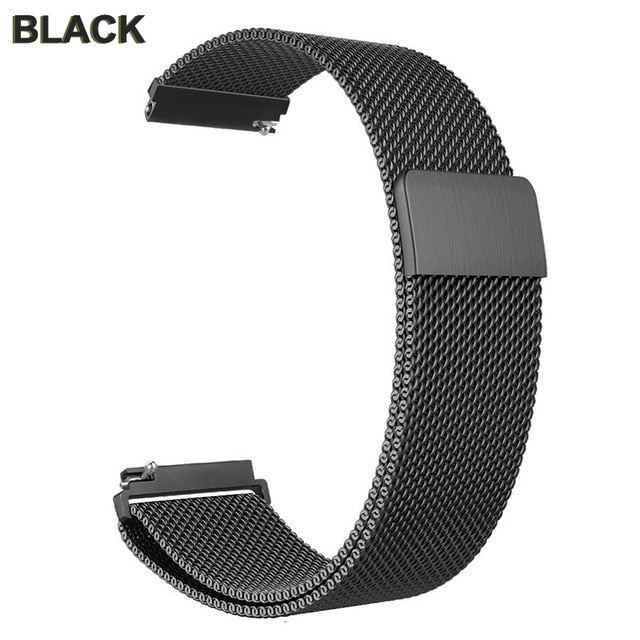 Stainless Steel Milanese Magnetic Band For Fitbit Versa 2