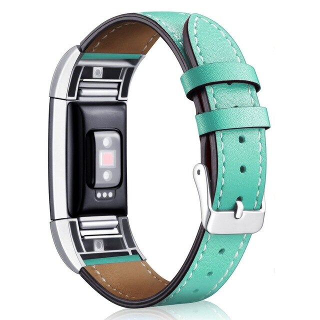 Fitbit Charge 2 Bands Leather Interchangeable Smart Fitness Watch Band