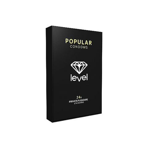 PRESERVATIVOS LEVEL POPULAR CONDOMS - 24UDS