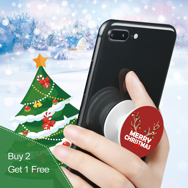 Merry Christmas Phone Grip Holder - Best Deal Today