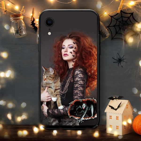 Custom Phone Cases Personalized iPhone Cases Halloween Photo iPhone Case