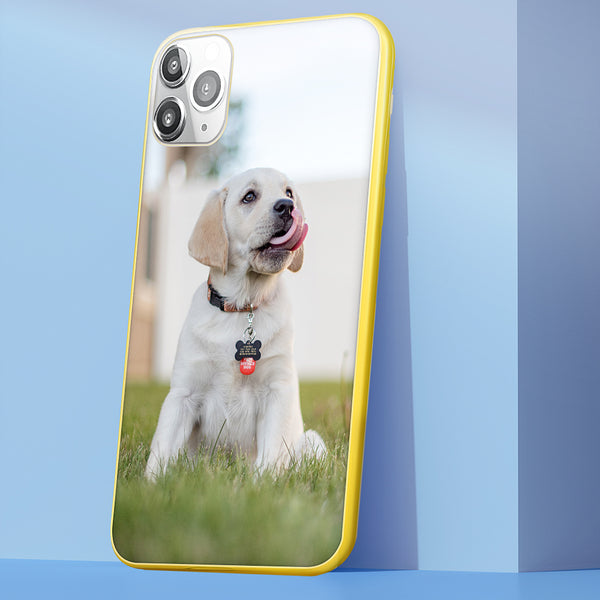 Custom Phone Case Candy Color iPhone 11P Case - Pet