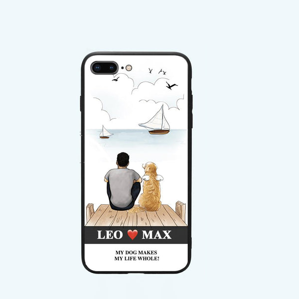 Your Puppy Story Custom iPhone Case