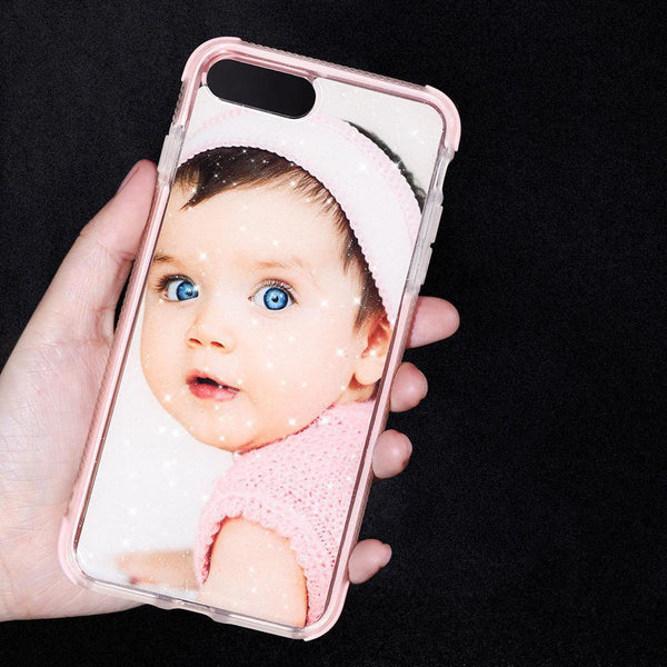 Custom Baby iPhone Case Make Your Kids Sparkling Bumper Safe