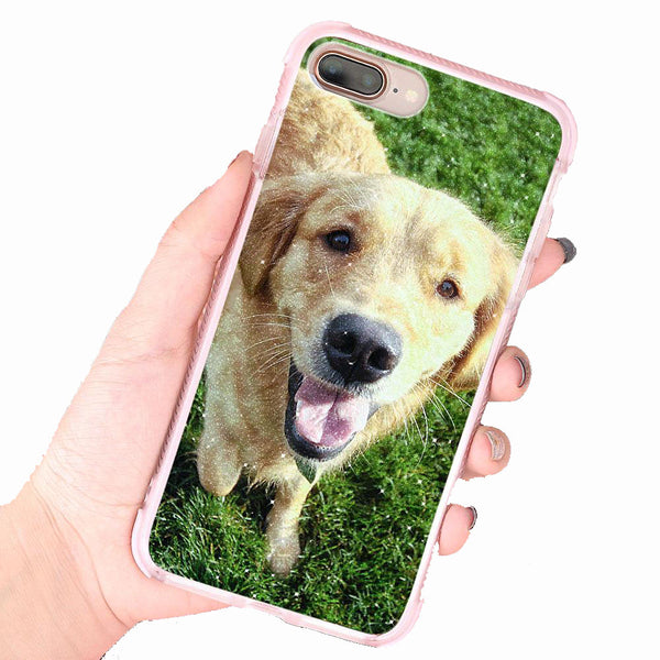 Custom iPhone Case Sparkling Bumper Safe - Make Your Pet Case