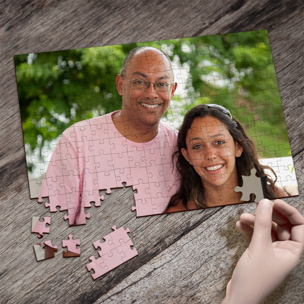 Custom Photo Jigsaw Puzzle Best Father's Day Gifts - 35-1000 pieces