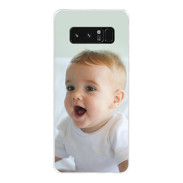 Custom Samsung Phone Cases Galaxy Note8-Translucent Edge