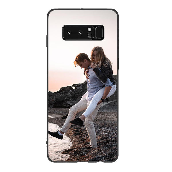 Custom Samsung Cases Galaxy Note8-Black Edge - Lovers