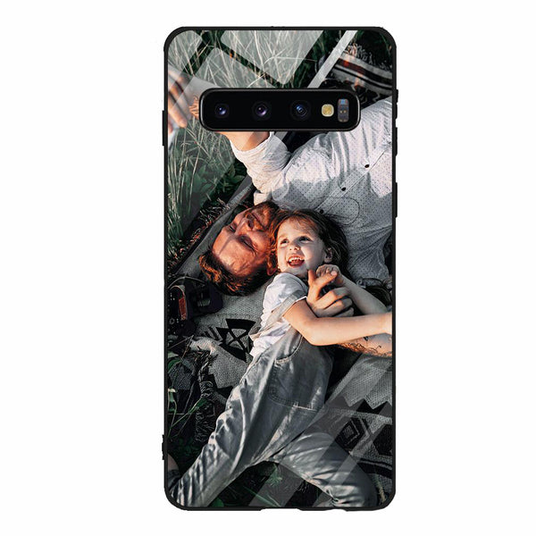 Samsung Galaxy S10 Plus Custom Phone Cases 9H Tempered Glass Back