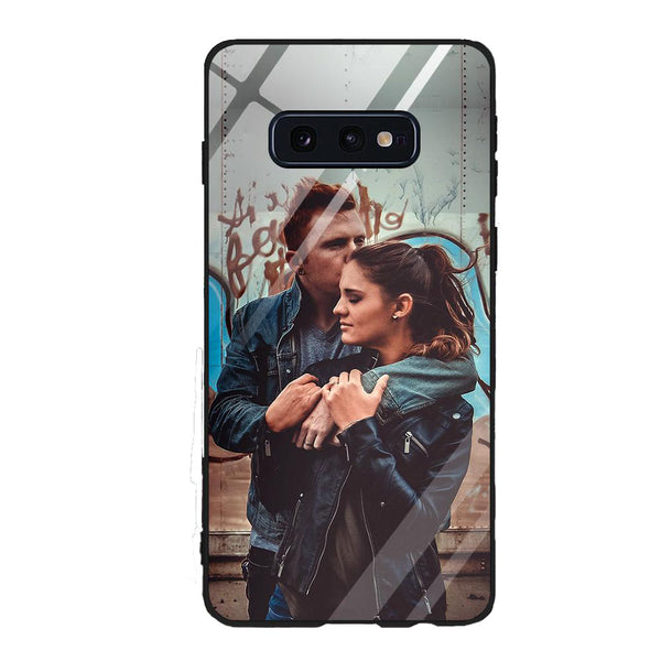 Custom Samsung Phone Cases Galaxy S10 Lite-9H Tempered Glass Back
