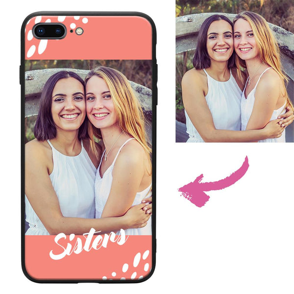 Custom Sisters iPhone Case