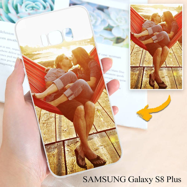Samsung Galaxy S8 Plus Custom Photo Protective Phone Case