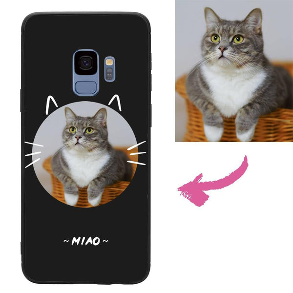 Custom Cat Samsung Galaxy Case
