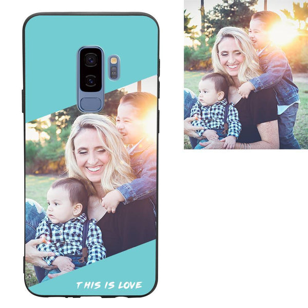 "Galaxy S9 Plus Custom ""This Is Love"" Photo Protective Phone Case"