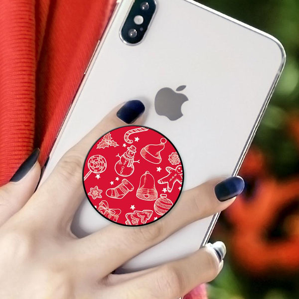 Christmas Gift Collapsible Phone Grip