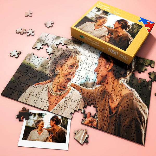 Custom Jigsaw Puzzle Best Gifts with Free Gift Wrapping- 35-1000 pieces
