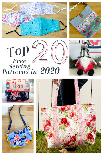 Top 20 Free SewCanShe Sewing Patterns for 2020!