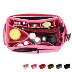 Purchase hokeeper felt purse insert organizer handbag organizer bag in bag diaper bag organizer fit speedy 30 40 neverfull 12 pockets 4 sizes 5 colors