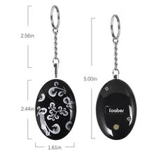 Load image into Gallery viewer, Select nice foaber personal alarm keychain personal alarms for women purse self defense keychain safe sound 120 130 db alarm device for women elderly kids night workers