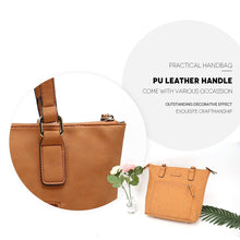 Load image into Gallery viewer, Selection tote bag angelinas palace shoulder bag organizer insert waterproof handbag pu leather sturdy zipper top handle purse women bags carry for office school travel shopping oyster