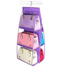 Load image into Gallery viewer, 6 Pockets Hanging Bag Organizer