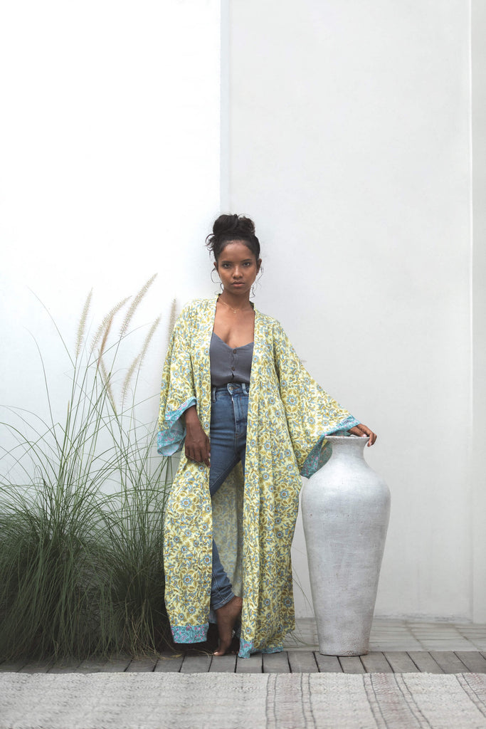 Forsoul The Label Córdoba Yellow Robe