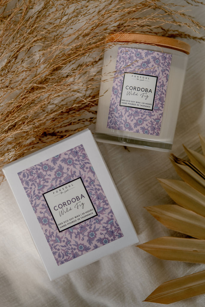 Forsoul The Label Cordoba Candle with eco soy wax