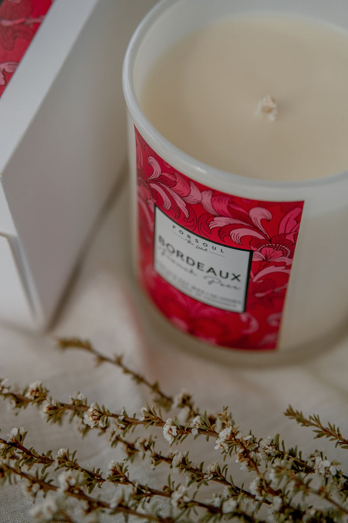 Forsoul The Label Bordeaux Candle