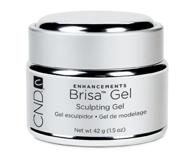 CND BRISA SCULPTING GELS Clear