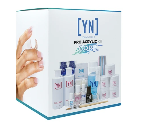 YOUNG NAILS - PRO ACRYLIC KIT CORE