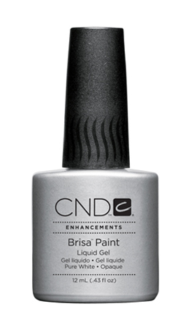 CND BRISA PAINTS Pure White - Opaque .43 fl oz