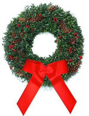 Boxwood - Blue Ridge Mountain Christmas Wreath