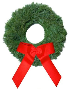 White Pine - Undecorated Christmas Wreath