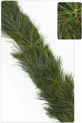 White Pine - 25ft Christmas Garland