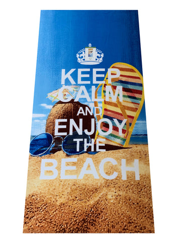 Toalla De Playa Micro 70x140cm Enjoy