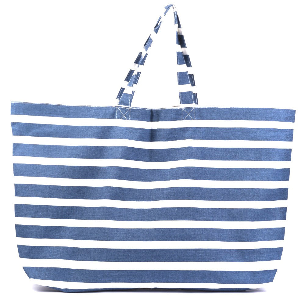 Bolso Stripes - Azul