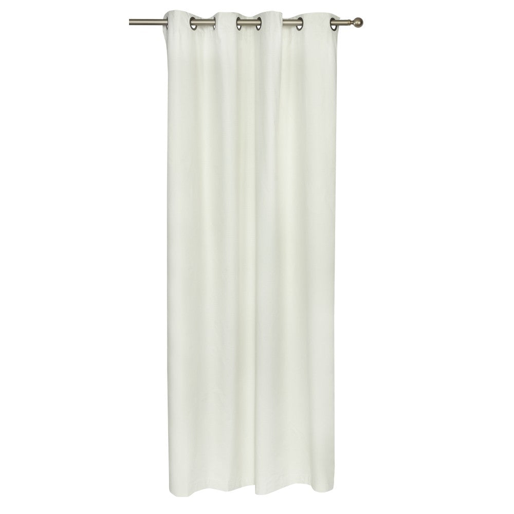 Cortina Blackout Con Argollas 140X220 - Ivory